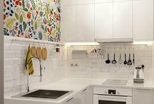 Super small kitchen