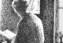 Верейский Георгий Семенович / 1886 — 1962 Русский и советский график-литограф и офортист, мастер портрета и пейзажа.