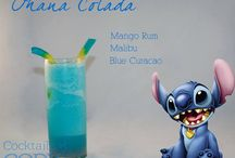 Disney Cocktails drinks 2 / Fun for Adult party and magic drinks