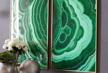 PCS - Agate wall art
