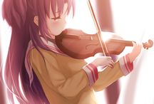 *~Clannad~* / Favorite characters from Clannad, little scene pictures. Lots of feels... (;~;)