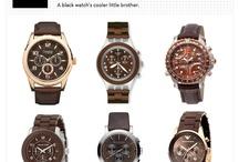 Menswear Style Hardware / Mens watches  cufflinks menswear accessories