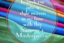 Janta Saree Creations- Ethnic Fabrics / Ethnic fabrics with vibrant colours.