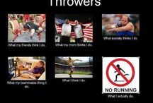 Throwing is life