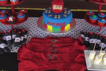 Ninja Party / Great party ideas to help you throw a fun, colorful, and sweet Ninja party or a Ninjago party or a Teenage Mutant Ninja party. Featuring decorations, party ideas, dessert tables, party favors , free printables, and more.