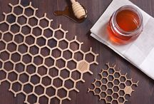 Honeycomb Home Range / Sustainble everyday products made from bamboo