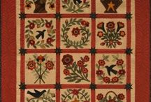 Quilts - my wool samplers