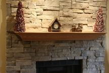 Fireplace Ideas / by Ronnie Houston