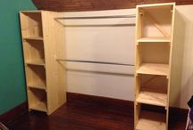 DIY closets