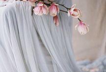 Wedding Colour | Dusty Blue & Palest Pink
