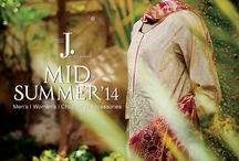 Mid Summer Collection / Welcome the occasion, with J. Mid Summer Collection. Choose from a range of vibrant colours and sophisticated styles that'll have you looking your best, effortlessly, day or night. Show off your true colours and bring your personality into the spotlight. / by J. Junaid Jamshed (Private) Limited.