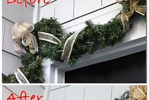 Christmas Decorating ideas - Garlands