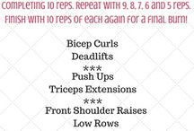 At Home Workouts / A collection of workouts you can easily do at home / by Peanut Butter Fingers