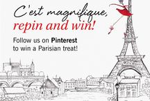 Dream Trip To Paris #GLOSSYParisTrip / Pinning Ideas for a Dream Trip to Paris!