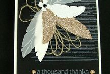 Stampin' Up! - Four Feathers / Projects using the Four Feathers stamps and matching framelits.