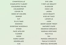 cruelty-free/vegan brands