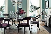 Dining room ideas / by Kerri Vieira