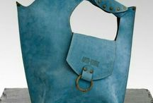 Leather bags hide ends ladies
