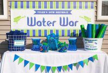 Phoenix 2nd birthday party ideas / Wet n Wild