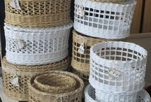 basketry, paper weaving....