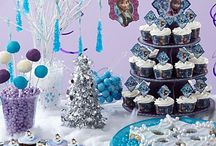 Frozen Dessert Ideas / Olaf, Anna and Elsa all return in a Frozen sweets & treats table for the holidays created by our friends at Wilton! Let your creativity go with great how-to tips for cake pops, cookies, plus much more! / by Party City