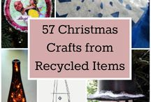 Recycled items to make into Christmas Crafts