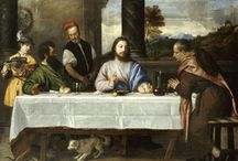 Third Sunday of Easter / The gospel for the third Sunday of Easter is always one in which the risen Christ shares food with the disciples, meals that are the Easter template for the meal we share each Lord's day. In gospel story about the Walk to Emmaus, Luke 24:36b–48, Jesus both shares the disciples' food and shows them the meaning of his suffering, death, and resurrection through the scriptures: the two main elements of our Sunday worship.