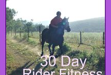Rider exercises / Exercise for the horse rider