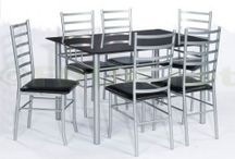 6 Seat Dining Sets / A fantastic range of 6 seat dining sets, whatever your interior style or budget. Each excellent value dining set comes with 6 beautiful dining chairs and a large complementing table, creating ample room around your dining table for extra guests or extended family to enjoy a meal together.