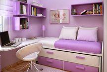 small bedroom ideas / by Maryann Matakovich