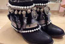 botas decoradas