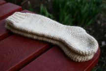 Knitting - socks & slippers