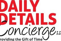 About Us / Daily Details Concierge is a unique personal assistance service designed to save time and maximize productivity for both businesses and individuals.