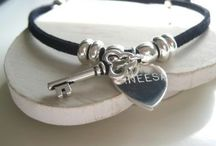 Jewellery for Ladies and Girls / Pretty bracelets and charms that you can make unique | The Personalised Gift Shop