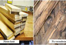 Kleuren van hout