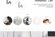 Design || Branding + Moodboards / Brand Design || Logo Design || Brand Identity || Brand Moodboard || Inspiring Brand Design