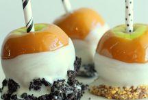Fall Parties: Caramel Apple Bar
