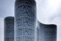 Contemporary architecture / design / Inspiratie ruimtelijke vormgeving