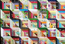 Scrappy quilts / by Barb Abrams