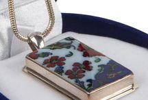 Seramik gümüş takılar