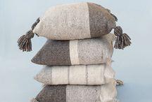 Wool Pillows, crafts