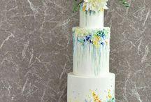 květinové dorty