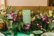 Tropical Table *PdB* / Inspiración tropical para tu boda o evento