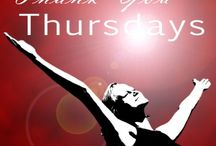 Thank You Thursday / Thank You Thursdays: a special day dedicated  to expressing my appreciation to the people, places, and things I love and appreciate in my life.  I will also be inviting  you to share your thanks for anyone or anything!  people who've touched you in some way inspiring quotes songs that speak to your soul a piece of artwork that makes you feel joy whenever you look at it your favourite scented candle that reminds you of home anything goes