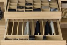 Home Organization / The best ideas on how to organize your home.  Organized pantries, drawers, closets & more