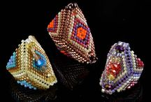 Ellajoy Hernandez Beadwork / Ellajoy is a New Mexico native and employee of the Poppyfield Bead Company Team. Although she has many talents, and worked as a Medical Assistant, she had dreamed of working in a bead shop. When she's not busy with her large family, Ellajoy is beading up all sorts of treasures. She has taught beadwork in the past, and looks forward to more designing and teaching. Ellajoy has a big heart and loves helping customers.