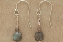 Headpin Earrings / Earrings made with headline
