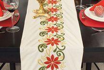 bordado mexicano navideño