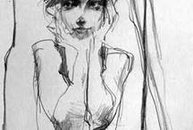 Croquis portrait
