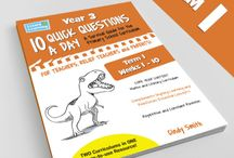 Lizard Learning 10 Quick Questions A Day-Year 3 / This is where you will find 10 Quick Questions A Day for Year 3